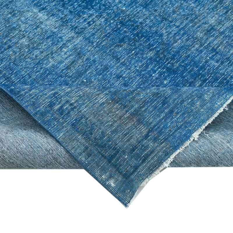 Azul Alfombra Turca Vintage Sobre-teñida  - 286 cm x 405 cm - K0041105