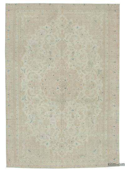 """Vintage Hand-knotted Oriental Rug - 6'9"""" x 9'8"""" (81 in. x 116 in.)"""