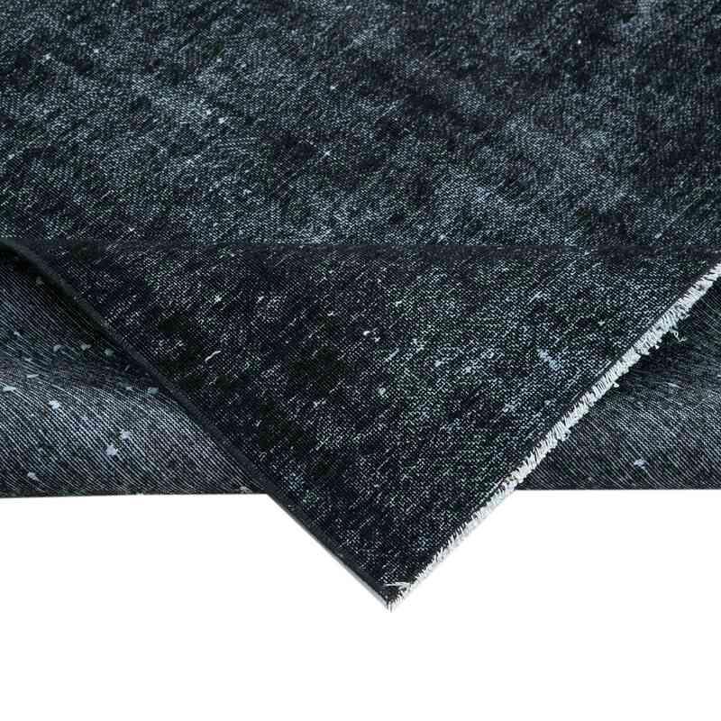 Siyah Boyalı El Dokuma Vintage Halı - 291 cm x 386 cm - K0041120