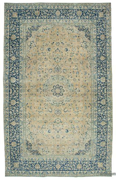 "Vintage Hand-knotted Oriental Rug - 10'1"" x 15'10"" (121 in. x 190 in.)"