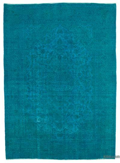 """Over-dyed Vintage Hand-Knotted Oriental Rug - 9' 7"""" x 13' 6"""" (115 in. x 162 in.)"""