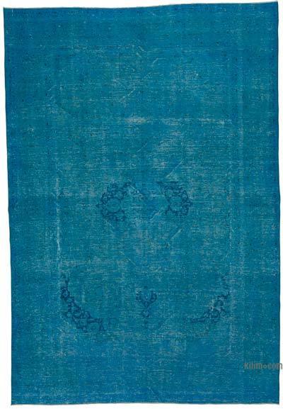 Vintage Boyalı El Dokuma Halı - 274 cm x 400 cm
