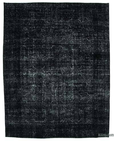 """Over-dyed Vintage Hand-knotted Oriental Rug - 9' 4"""" x 12' 1"""" (112 in. x 145 in.)"""