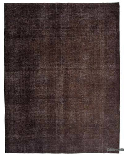 """Over-dyed Vintage Hand-knotted Oriental Rug - 9'5"""" x 12'2"""" (113 in. x 146 in.)"""
