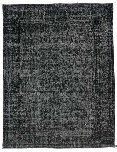 """Over-dyed Vintage Hand-knotted Oriental Rug - 9'4"""" x 12'2"""" (112 in. x 146 in.)"""