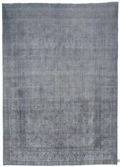 """Over-dyed Vintage Hand-knotted Oriental Rug - 9'  x 12' 10"""" (108 in. x 154 in.)"""