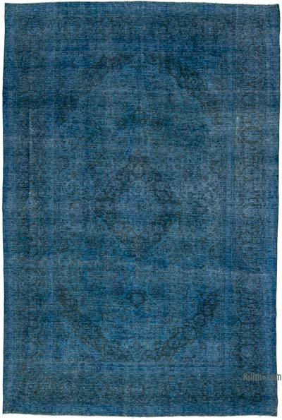 "Over-dyed Vintage Hand-knotted Oriental Rug - 9' 2"" x 13' 8"" (110 in. x 164 in.)"