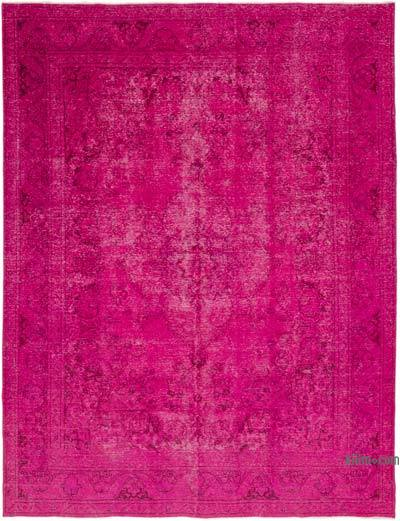 "Over-dyed Vintage Hand-knotted Oriental Rug - 9' 6"" x 12' 3"" (114 in. x 147 in.)"