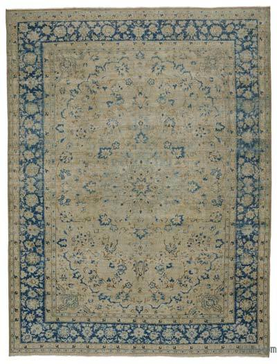 """Vintage Hand-knotted Oriental Rug - 9'7"""" x 12'7"""" (115 in. x 151 in.)"""