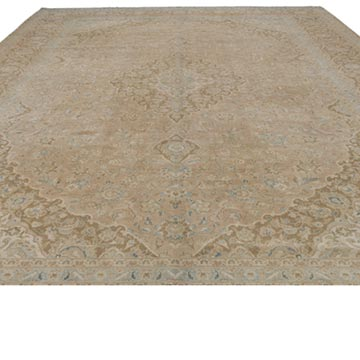"""Vintage Hand-Knotted Oriental Rug - 9' 10"""" x 13'  (118 in. x 156 in.) - K0041160"""