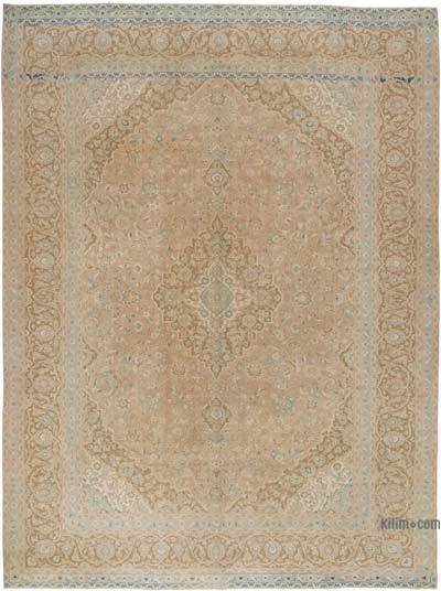 "Vintage Hand-knotted Oriental Rug - 9' 10"" x 13'  (118 in. x 156 in.)"
