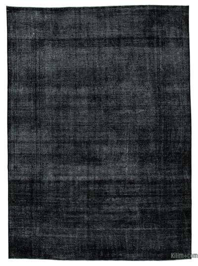 """Over-dyed Vintage Hand-knotted Oriental Rug - 9'6"""" x 13'3"""" (114 in. x 159 in.)"""