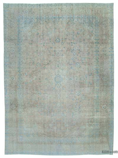 """Vintage Hand-knotted Oriental Rug - 9'5"""" x 12'11"""" (113 in. x 155 in.)"""
