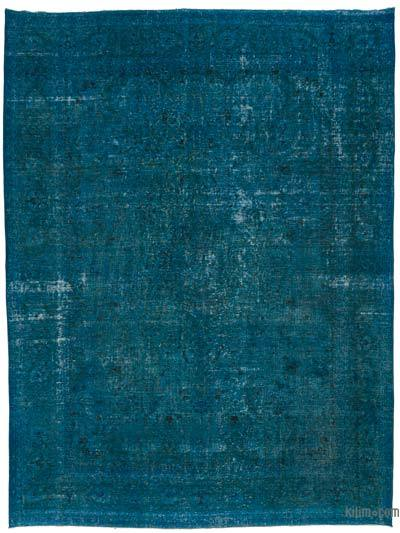 """Over-dyed Vintage Hand-Knotted Oriental Rug - 10'  x 13' 3"""" (120 in. x 159 in.)"""