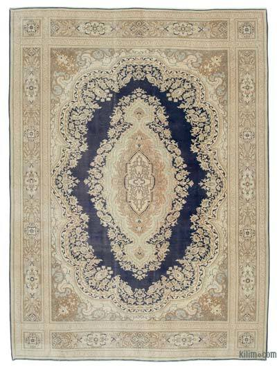 """Vintage Hand-knotted Oriental Rug - 8' 2"""" x 10' 11"""" (98 in. x 131 in.)"""