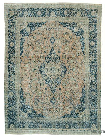 """Vintage Hand-knotted Oriental Rug - 9' 11"""" x 13' 1"""" (119 in. x 157 in.)"""