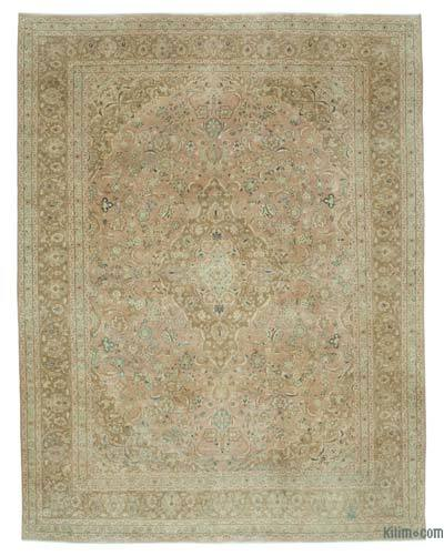 "Vintage Hand-knotted Oriental Rug - 9' 7"" x 12' 8"" (115 in. x 152 in.)"