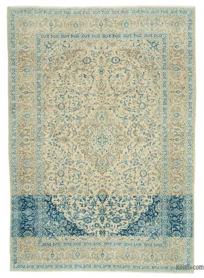 """Vintage Hand-knotted Oriental Rug - 8' 9"""" x 12' 3"""" (105 in. x 147 in.)"""