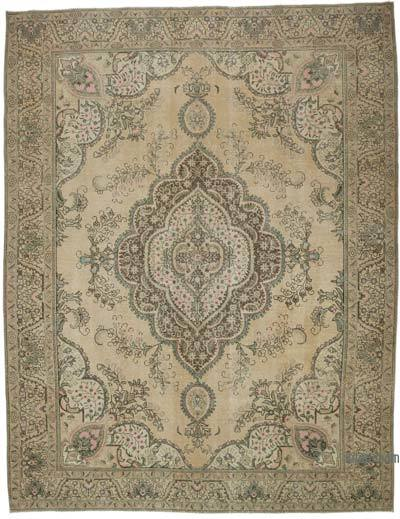 """Vintage Hand-knotted Oriental Rug - 9' 10"""" x 12' 7"""" (118 in. x 151 in.)"""