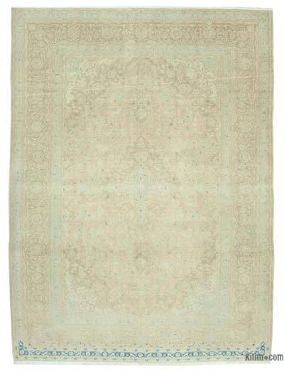 "Over-dyed Vintage Hand-knotted Oriental Rug - 8'4"" x 11'3"" (100 in. x 135 in.)"
