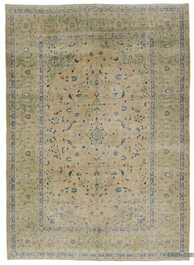 "Over-dyed Vintage Hand-knotted Oriental Rug - 8' 6"" x 11' 10"" (102 in. x 142 in.)"