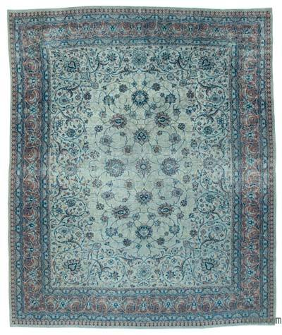 "Vintage Hand-knotted Oriental Rug - 10' 10"" x 12' 11"" (130 in. x 155 in.)"