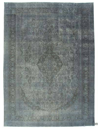 "Over-dyed Vintage Hand-knotted Oriental Rug - 9'6"" x 12'11"" (114 in. x 155 in.)"