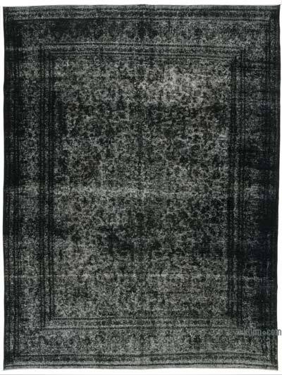 "Over-dyed Vintage Hand-knotted Oriental Rug - 9' 7"" x 12' 8"" (115 in. x 152 in.)"