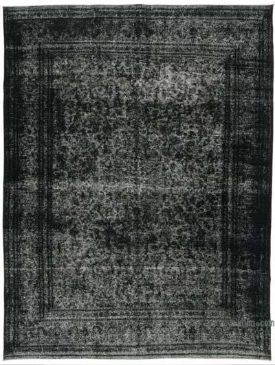 Vintage Boyalı El Dokuma Halı - 291 cm x 386 cm