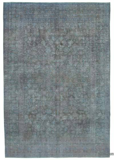 "Over-dyed Vintage Hand-knotted Oriental Rug - 8' 8"" x 12' 4"" (104 in. x 148 in.)"