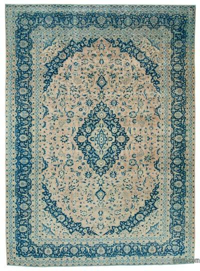 "Vintage Hand-knotted Oriental Rug - 9' 11"" x 13' 7"" (119 in. x 163 in.)"