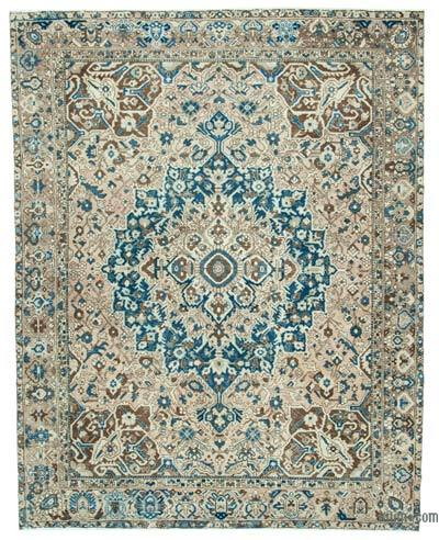 """Vintage Hand-Knotted Oriental Rug - 9' 8"""" x 12' 2"""" (116 in. x 146 in.)"""