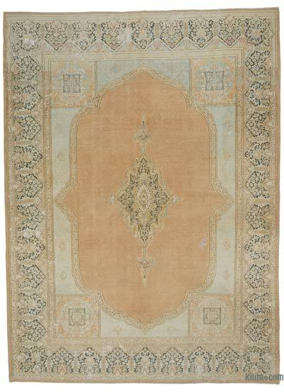 "Vintage Hand-knotted Oriental Rug - 10'  x 13' 8"" (120 in. x 164 in.)"