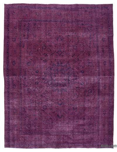 """Over-dyed Vintage Hand-knotted Oriental Rug - 9'9"""" x 13' (117 in. x 156 in.)"""