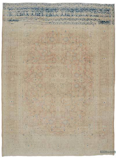 "Vintage Hand-knotted Oriental Rug - 9'10"" x 13'3"" (118 in. x 159 in.)"