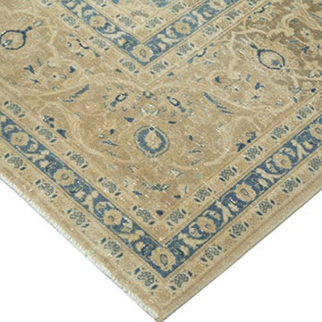 """Vintage Hand-Knotted Oriental Rug - 9' 11"""" x 13'  (119 in. x 156 in.) - K0041231"""