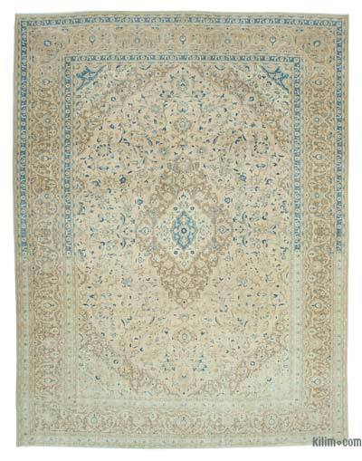 """Vintage Hand-knotted Oriental Rug - 9' 11"""" x 13'  (119 in. x 156 in.)"""