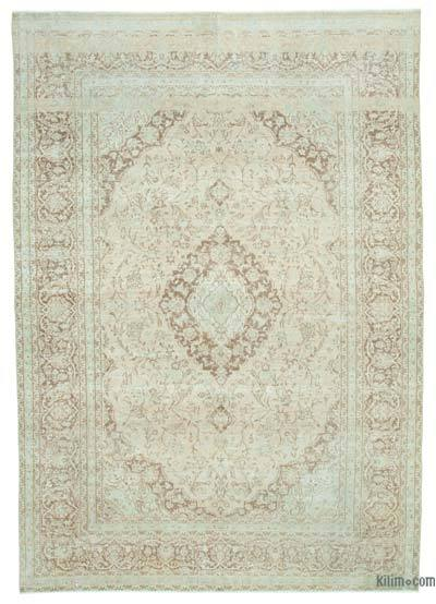 "Vintage Hand-knotted Oriental Rug - 7'9"" x 11'2"" (93 in. x 134 in.)"