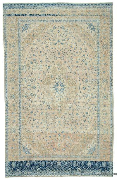 "Vintage Hand-knotted Oriental Rug - 9' 6"" x 15' 5"" (114 in. x 185 in.)"
