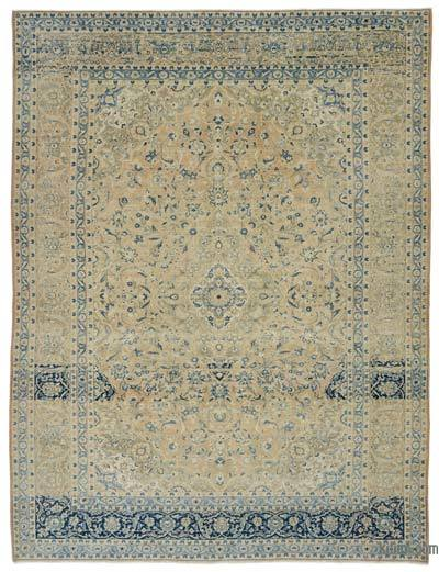 """Vintage Hand-knotted Oriental Rug - 8' 9"""" x 11' 6"""" (105 in. x 138 in.)"""