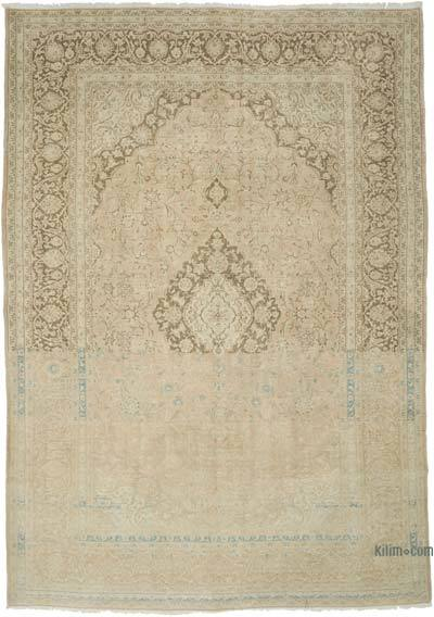 "Vintage Hand-knotted Oriental Rug - 7'11"" x 11'4"" (95 in. x 136 in.)"