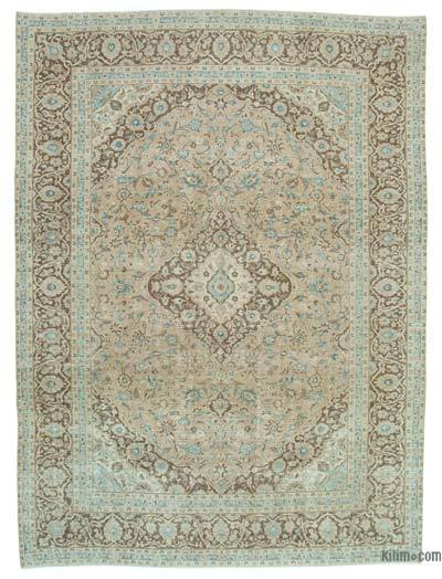 """Vintage Hand-knotted Oriental Rug - 9' 5"""" x 12' 7"""" (113 in. x 151 in.)"""