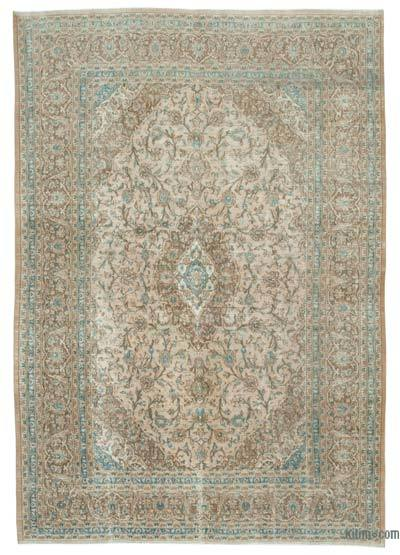 "Vintage Hand-knotted Oriental Rug - 7' 9"" x 11' 3"" (93 in. x 135 in.)"