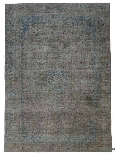 "Over-dyed Vintage Hand-knotted Oriental Rug - 9'  x 12' 8"" (108 in. x 152 in.)"