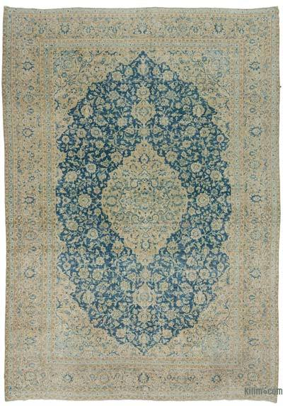 "Vintage Hand-knotted Oriental Rug - 9'10"" x 13'10"" (118 in. x 166 in.)"