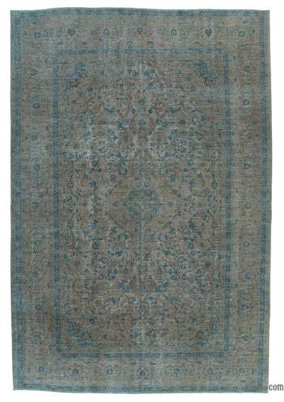 "Over-dyed Vintage Hand-knotted Oriental Rug - 7'10"" x 11'10"" (94 in. x 142 in.)"