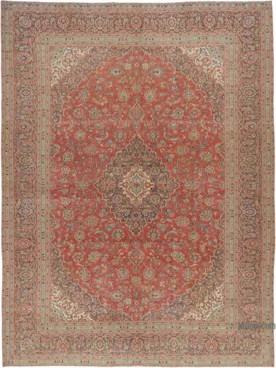 """Vintage Hand-knotted Oriental Rug - 9' 10"""" x 13'  (118 in. x 156 in.)"""