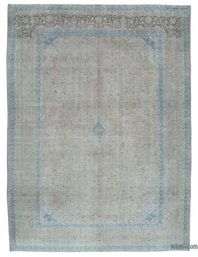 "Over-dyed Vintage Hand-knotted Oriental Rug - 9'7"" x 12'11"" (115 in. x 155 in.)"