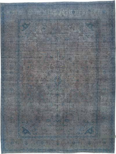 "Vintage Hand-knotted Oriental Rug - 10' x 13'3"" (120 in. x 159 in.)"