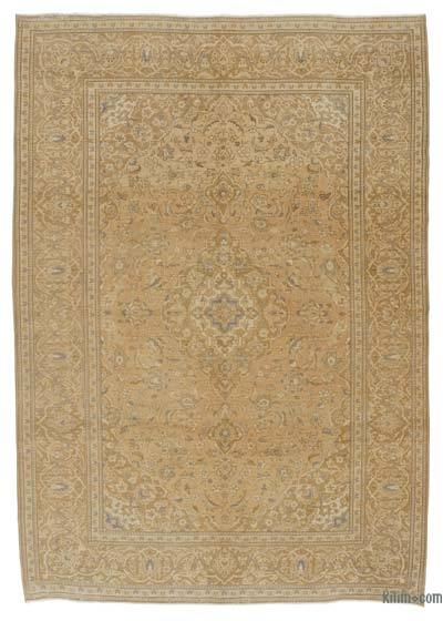 "Over-dyed Vintage Hand-knotted Oriental Rug - 8' 1"" x 11' 4"" (97 in. x 136 in.)"